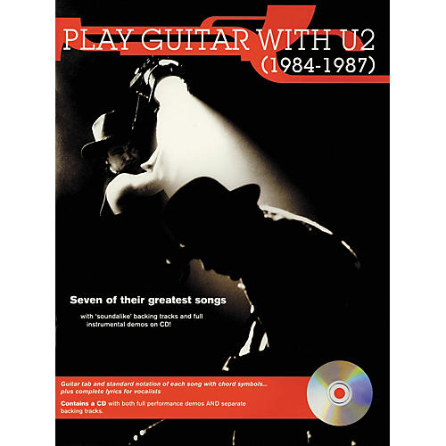 Hal Leonard Play Guitar with U2 (1984-1987) Book with CD