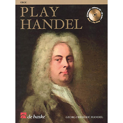 De Haske Music Play Handel (Oboe) De Haske Play-Along Book Series