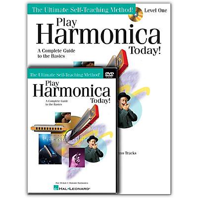 Hal Leonard Play Harmonica Today! Beginner's Pack - Includes Book/CD/DVD