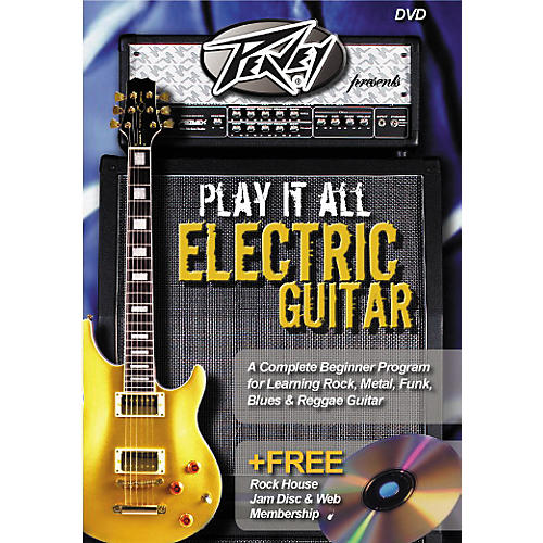 Hal Leonard Play It All Electric Guitar (DVD)