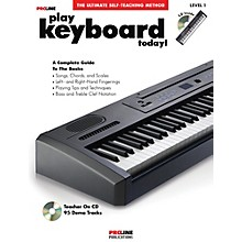 Open Box Proline Play Keyboard Today! (Book/CD)