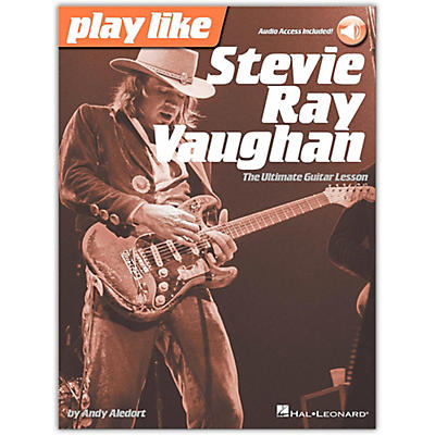 Hal Leonard Play Like Stevie Ray Vaughan - The Ultimate Guitar Lesson Book/Online Audio