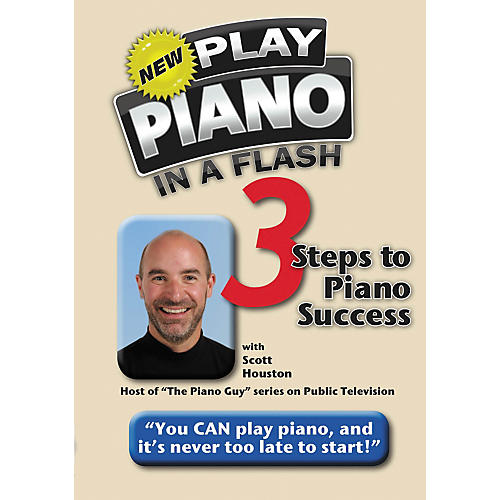 Hal Leonard Play Piano In A Flash - 3 Steps To Piano Success DVD