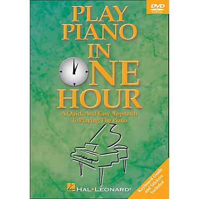 Hal Leonard Play Piano In One Hour! DVD