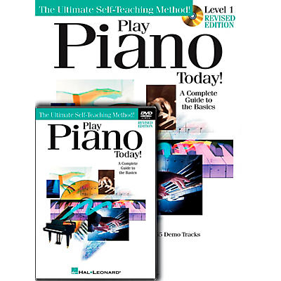 Hal Leonard Play Piano Today! Level One (Book/CD/DVD)