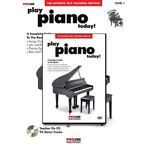 Proline Play Piano Today! Method (Book/CD/DVD)