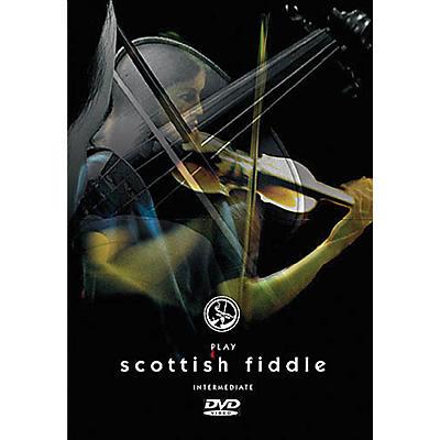 Music Sales Play Scottish Fiddle - Intermediate Music Sales America Series DVD Written by Christine Martin
