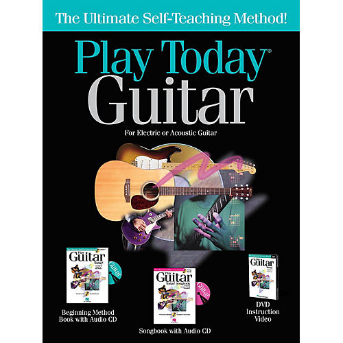 Hal Leonard Play Today Guitar Complete Kit Play Today Instructional Series Series Softcover with DVD-ROM