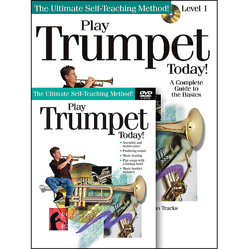 Hal Leonard Play Trumpet Today! Beginner's Pack - Includes Book/CD/DVD