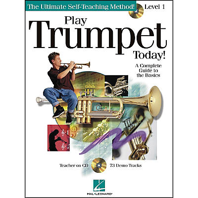 Hal Leonard Play Trumpet Today Level 1 Book/CD