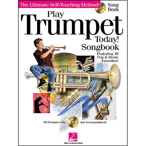 Hal Leonard Play Trumpet Today! Songbook CD/Pkg