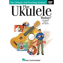 Hal Leonard Play Ukulele Today! (A Complete Guide to the Basics) DVD Series DVD Written by John Nicholson