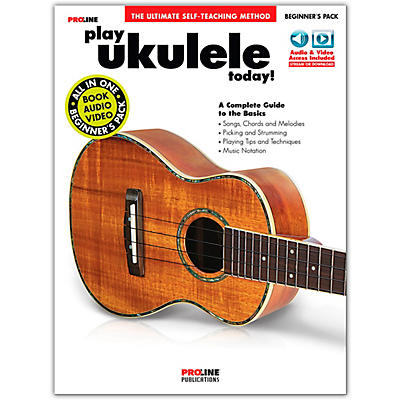 Proline Play Ukulele Today! Beginner's Pack Book/Audio & Video Online