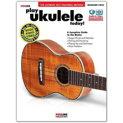 Proline Play Ukulele Today! Beginner's Pack Book/Audio & Video Online