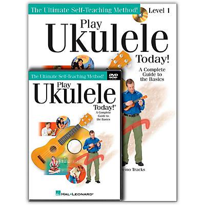 Hal Leonard Play Ukulele Today! Beginner's Pack (Book/Online Audio/DVD)