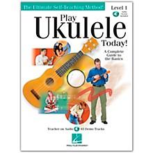 Hal Leonard Play Ukulele Today! Level One Book/CD 9X12