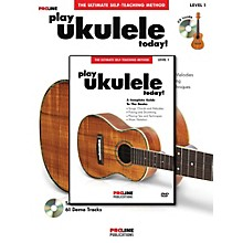 Proline Play Ukulele Today! Method (Book/CD/DVD)