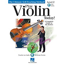 Hal Leonard Play Violin Today! - Level 2 Play Today Instructional Series Series Softcover with CD by Various Authors