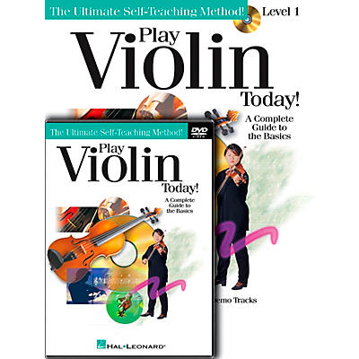 Hal Leonard Play Violin Today! Beginner's Pack - Includes Book/CD/DVD