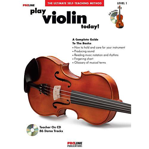 Proline Play Violin Today Book/CD