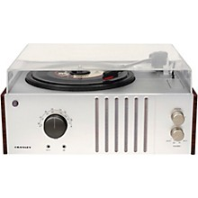Open Box Crosley Player 3-Speed Belt Drive Turntable with AM/FM Radio