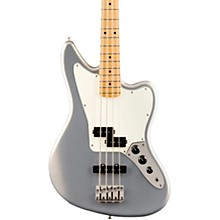 Player Jaguar Bass Maple Fingerboard Silver