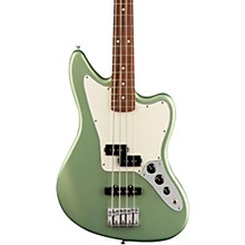 Player Jaguar Bass Pau Ferro Fingerboard Sage Green Metallic