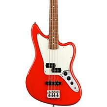 Player Jaguar Bass Pau Ferro Fingerboard Sonic Red