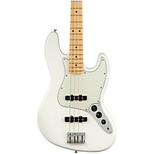 Player Jazz Bass Maple Fingerboard Polar White