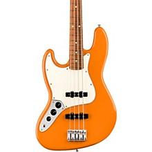 Player Jazz Bass Pau Ferro Fingerboard Left-Handed Capri Orange