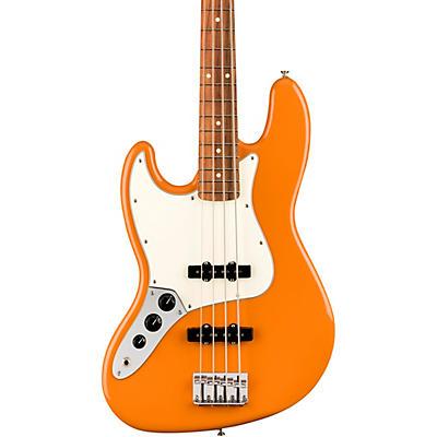 Fender Player Jazz Bass Pau Ferro Fingerboard Left-Handed