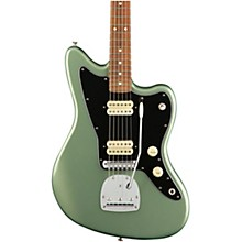 Player Jazzmaster Pau Ferro Fingerboard Electric Guitar Sage Green Metallic