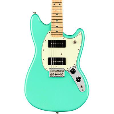 Fender Player Mustang 90 Maple Fingerboard Electric Guitar, Sea Foam Green