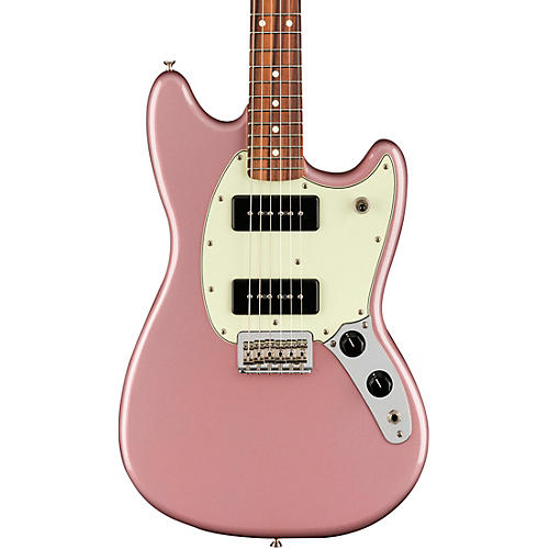 Fender Player Mustang 90 Pau Ferro Fingerboard Electric Guitar Burgundy Mist Metallic