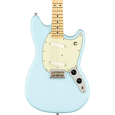 Fender Player Mustang Electric Guitar With Maple Fingerboard