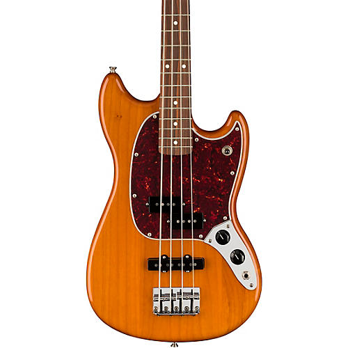 Fender Player Mustang PJ Bass with Pau Ferro Fingerboard Aged Natural