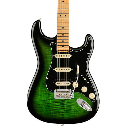 Fender Player Stratocaster HSS Plus Top Maple Fingerboard Limited-Edition Electric Guitar Green Burst