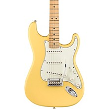 Player Stratocaster Maple Fingerboard Electric Guitar Buttercream