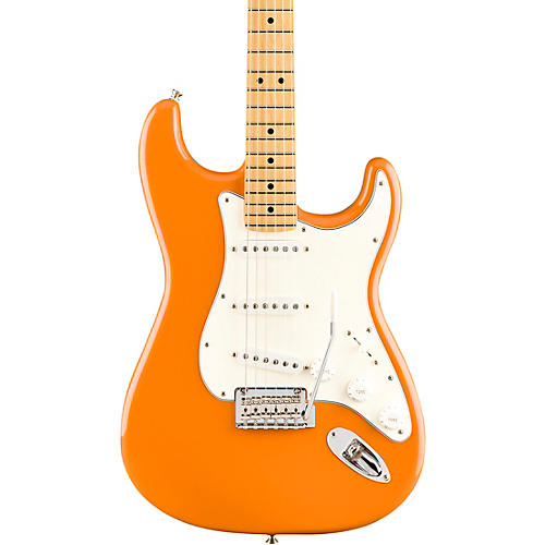 Fender Player Stratocaster Maple Fingerboard Electric Guitar Capri Orange
