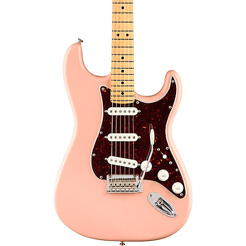 Fender Player Stratocaster Maple Fingerboard Limited Edition Electric Guitar Shell Pink