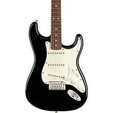 Player Stratocaster Pau Ferro Fingerboard Electric Guitar Black