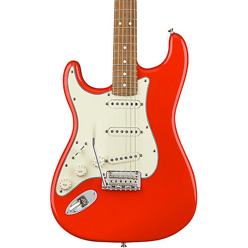 Fender Player Stratocaster Pau Ferro Fingerboard Left-Handed Electric Guitar