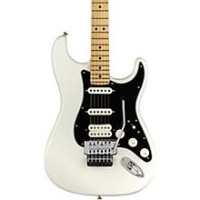 Player Stratocastor HSS Floyd Rose Maple Fingerboard Electric Guitar Polar White