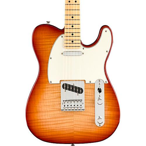 Fender Player Telecaster Plus Top Maple Fingerboard Limited-Edition Electric Guitar Sienna Sunburst