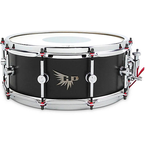 Hendrix Drums Player's Stave Series Maple Snare Drum 14 x 5.5 in. Satin Black