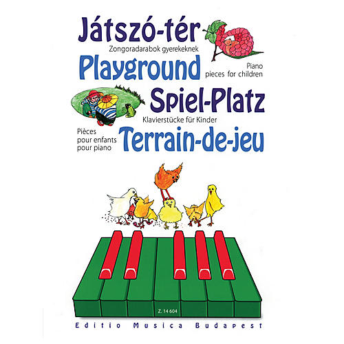 Editio Musica Budapest Playground - Piano Pieces for Children EMB Series Softcover Composed by Various