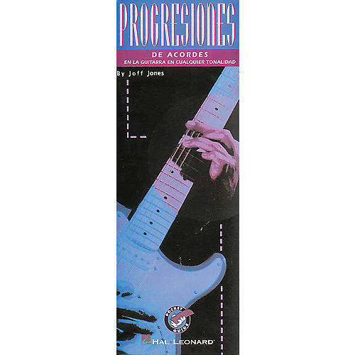 Hal Leonard Playing Chord Progressions Guitar Book