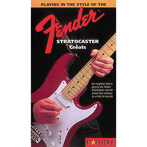 Hal Leonard Playing In The Style Of The Fender Stratocaster Greats Video
