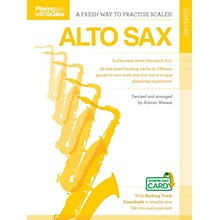Music Sales Playing with Scales: Alto Sax Music Sales America Series Book Audio Online