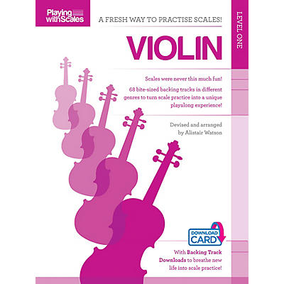 Music Sales Playing with Scales: Violin Music Sales America Series Softcover Audio Online Written by Various